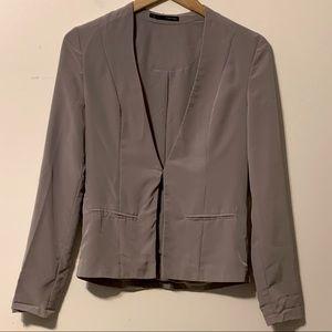EUC Adorable Maurices Gray Blazer Style Jacket SZS